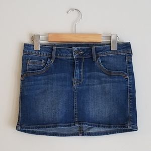 MANGO Jeans Denim Mini Skirt